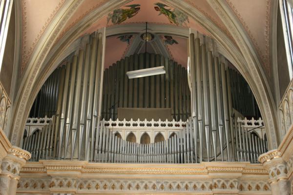 Organo de la Iglesia de San Nicolas