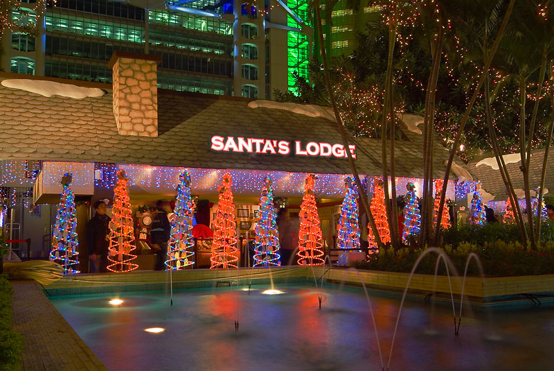 Santas Lodge - Chater Garden