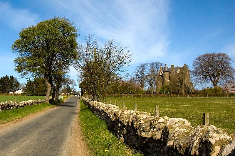 Fowlis Castle.