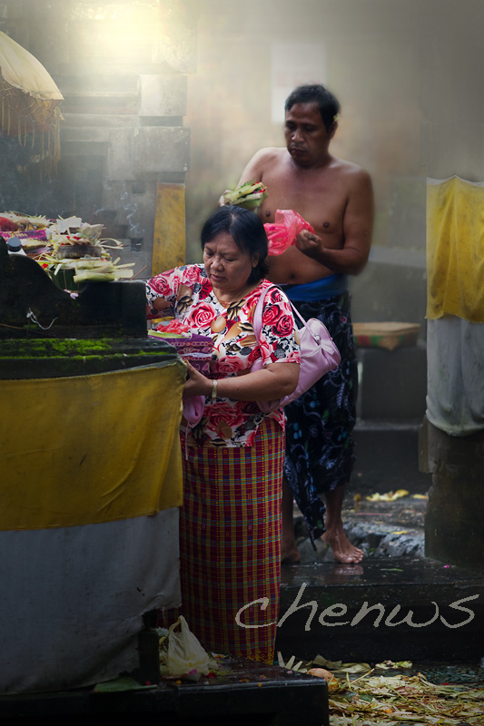 Couple preparing for prayers after cleansing _MG_2515.jpg