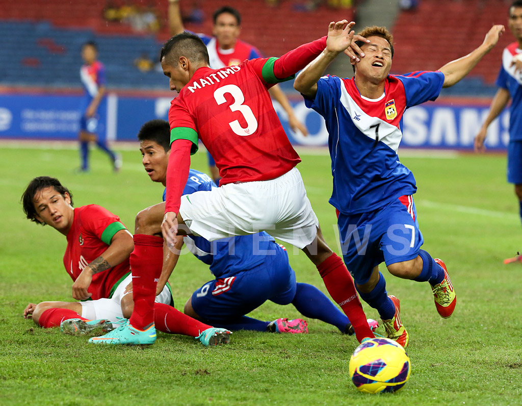 Indonesia vs Laos
