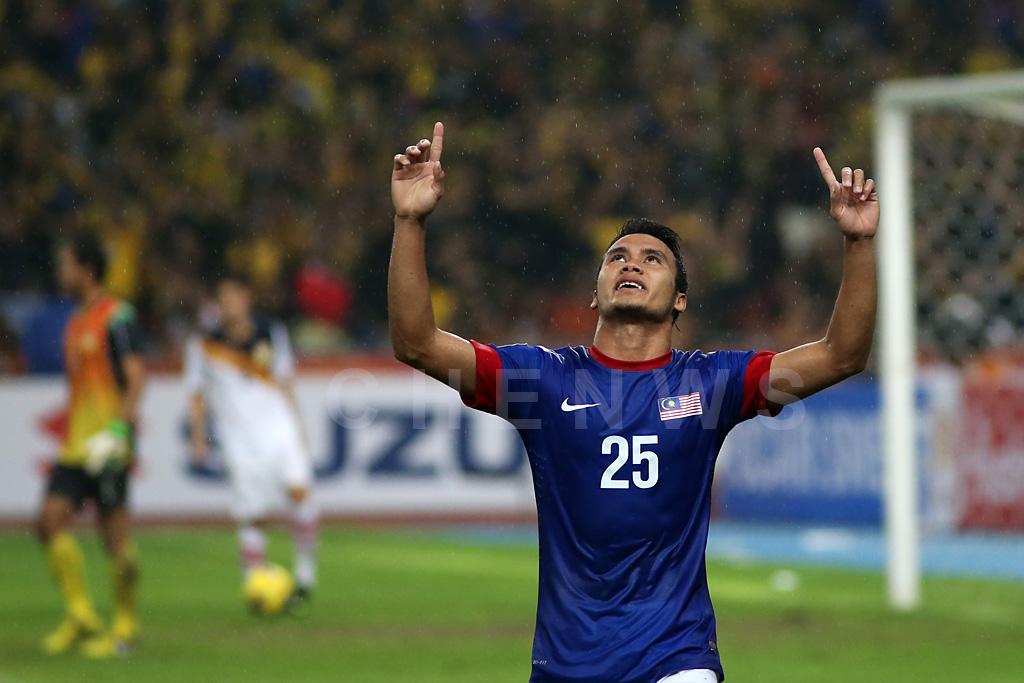 Malaysias Wan Zack Haikal celebrates