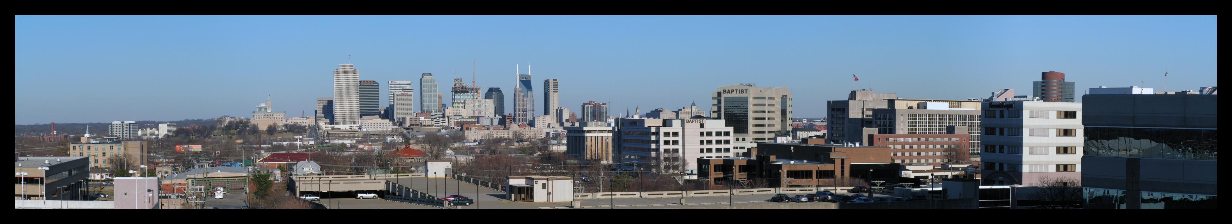 Nashville Pano