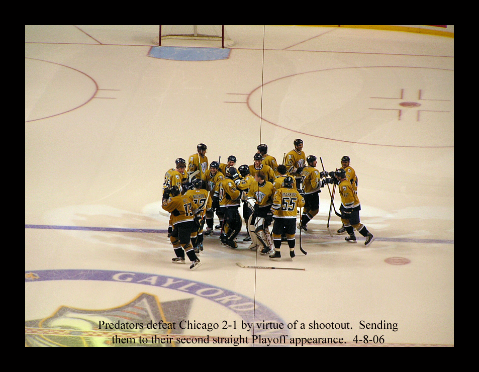 Predators are off to their second straight Playoff appearance