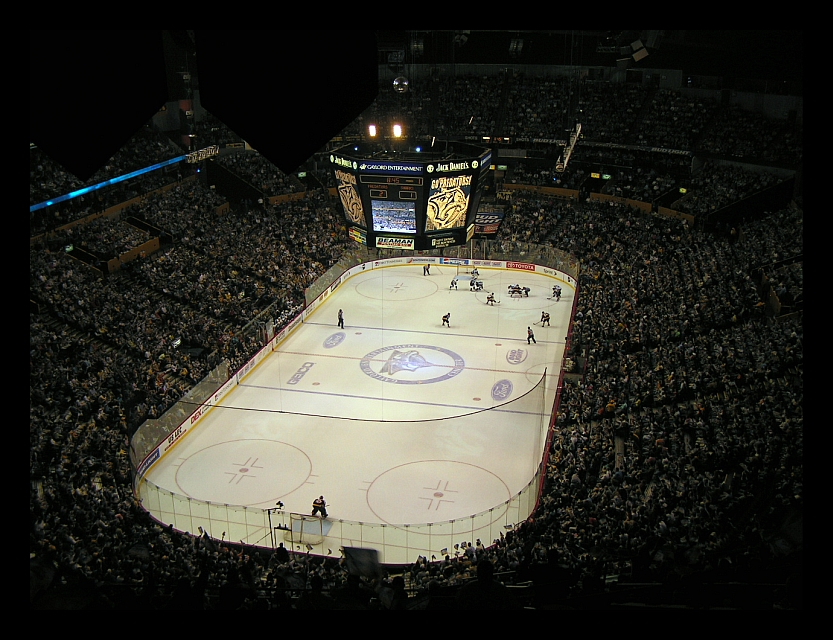 Game 1 of the 2006 Stanley Cup Playoffs