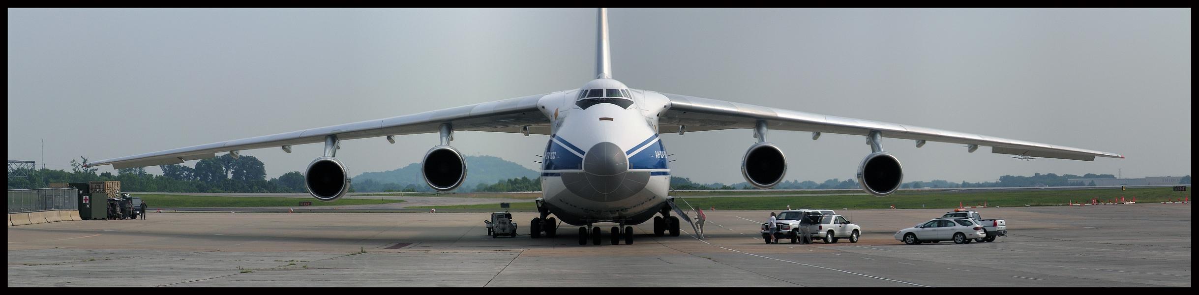Volga Dnepr Airlines Antonov-124 **Panoramic**