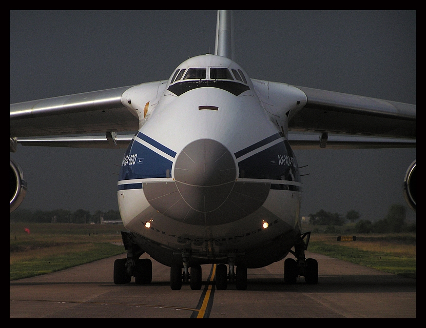 Escorting The Antonov