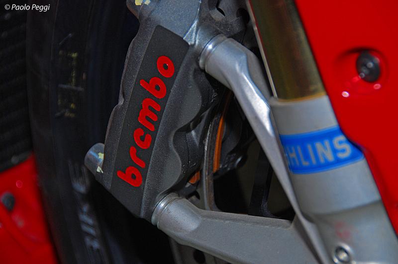 Michel Fabrizios Ducati SBK 1198 : Monobloc Brakes
