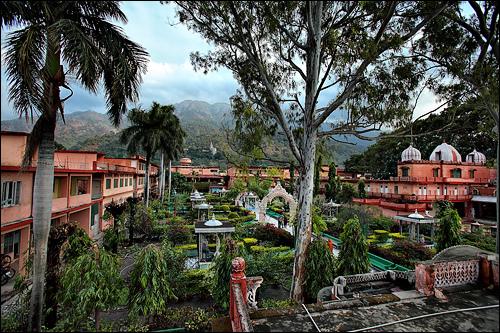 Garden of Parmarth Niketan