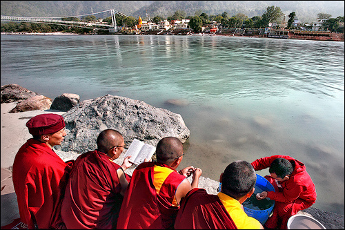 Blessing the Ganga