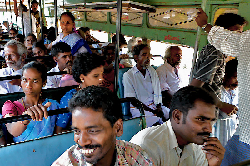On a Tamil bus II