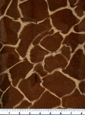 Giraffe Faux Fur