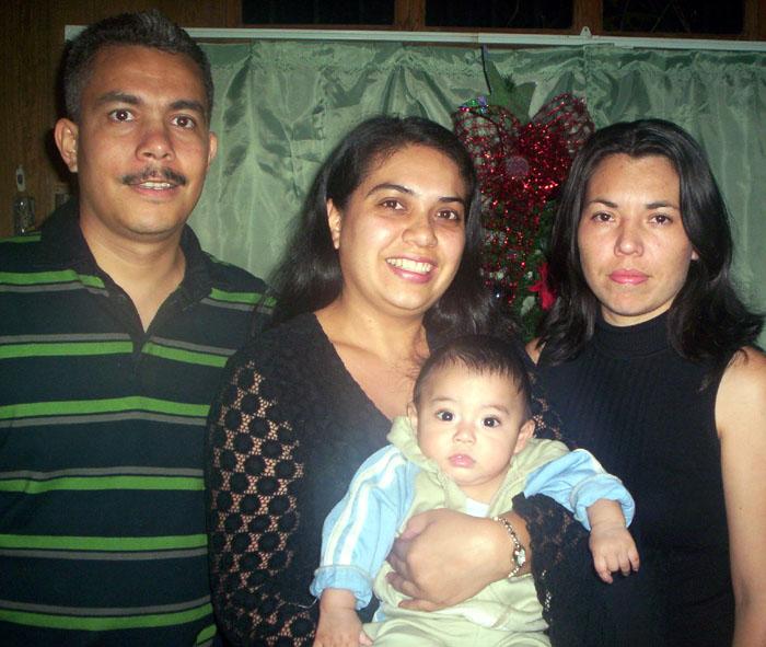 Leslie y cuñados