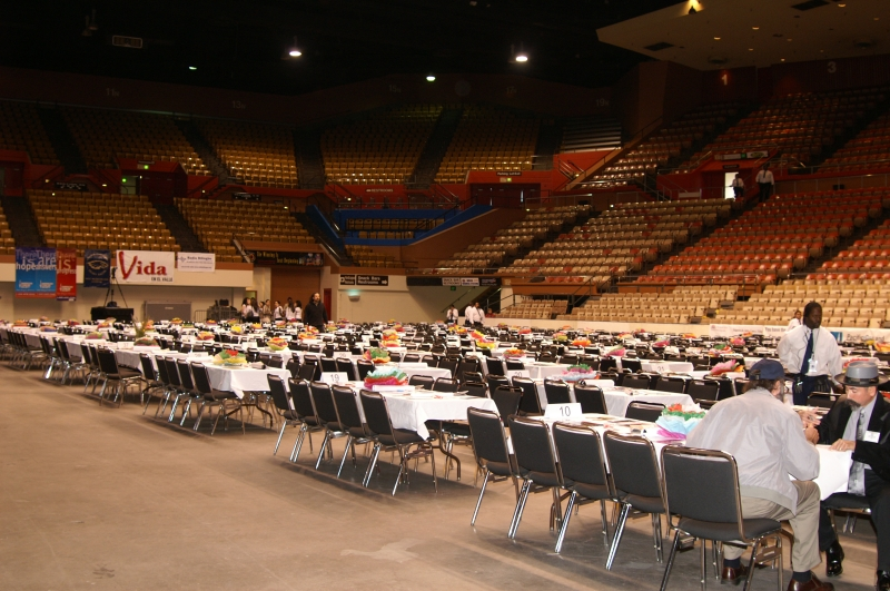 Selland Arena before the concert