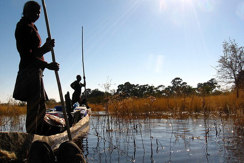 On the Okavango Delta