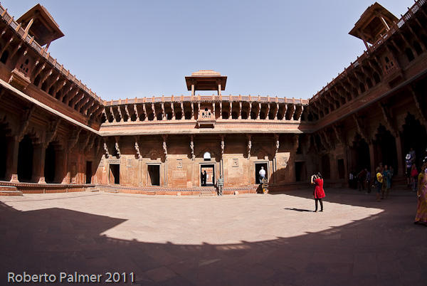 Fort Rouge - Red Fort of Agra