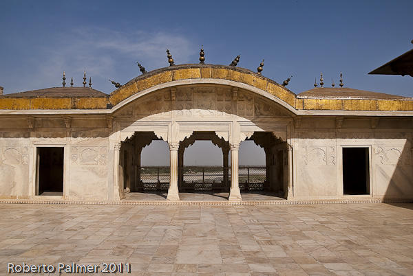Fort Rouge - Red Fort of Agra - parte interna