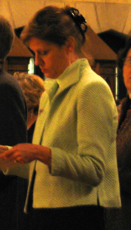 Ursuline Graduate, My Daughter, At Mass of Thanksgiving January 8