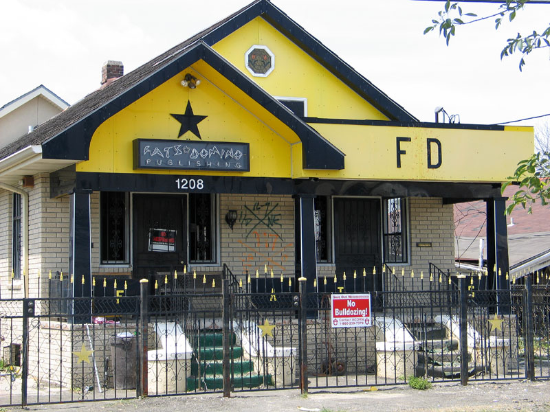 Fats Dominos House in Ninth Ward