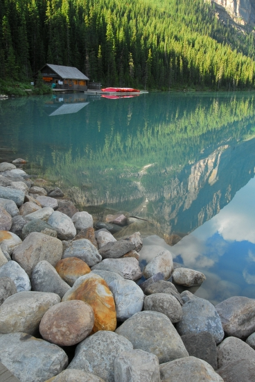 The Boathouse At Lake Louise