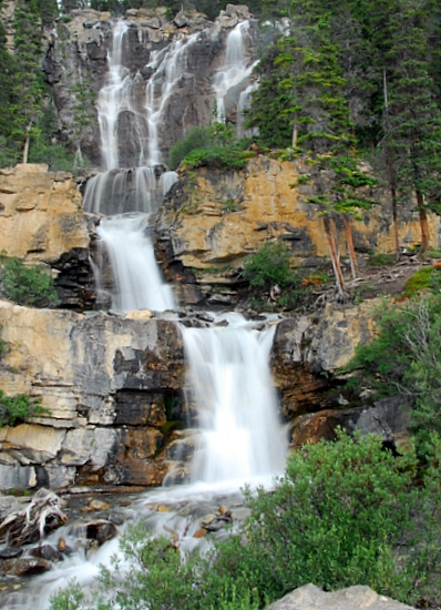 Tangle Falls On The Way To Jasper