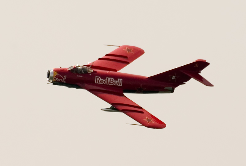 Red Bull MiG 17