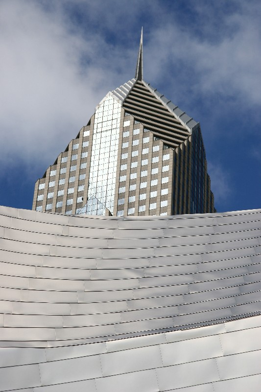 Millenium Park & Two Prudential Plaza