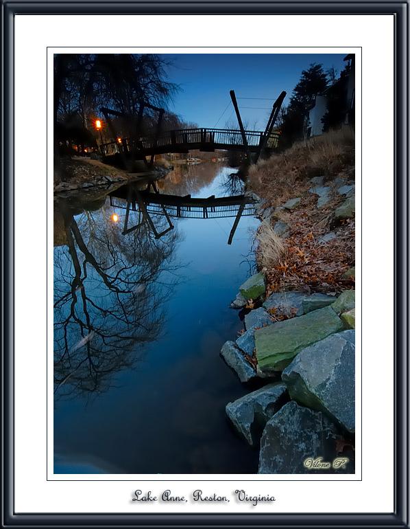 Lake Anne, Reston, Virginia.