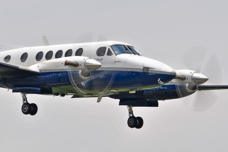 RAF King Air ZK453 3