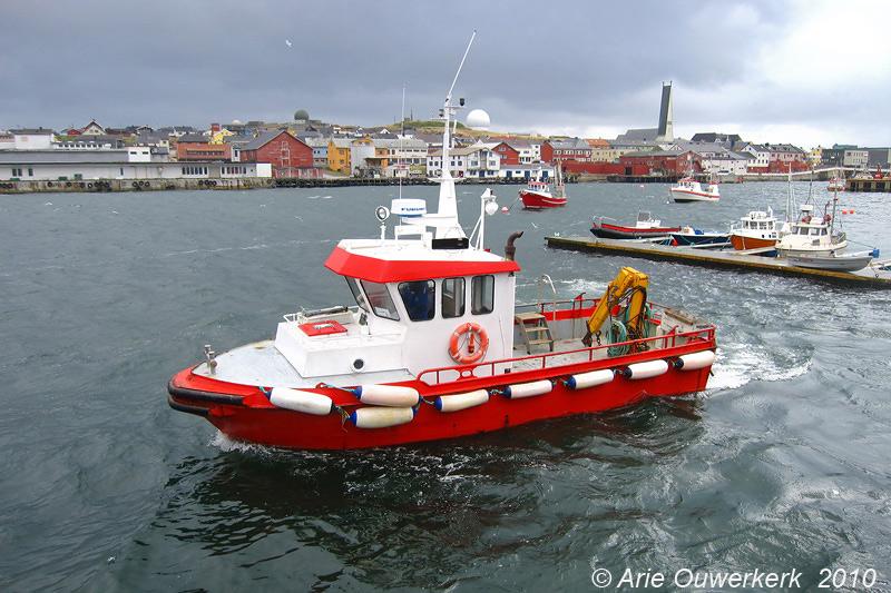 Vardo, the boat to Hornoya