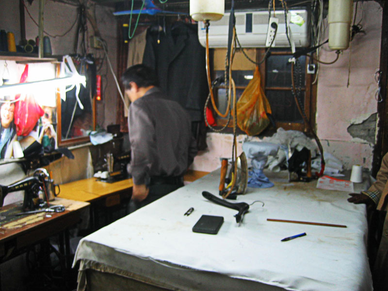 Sewing room (and bedroom)