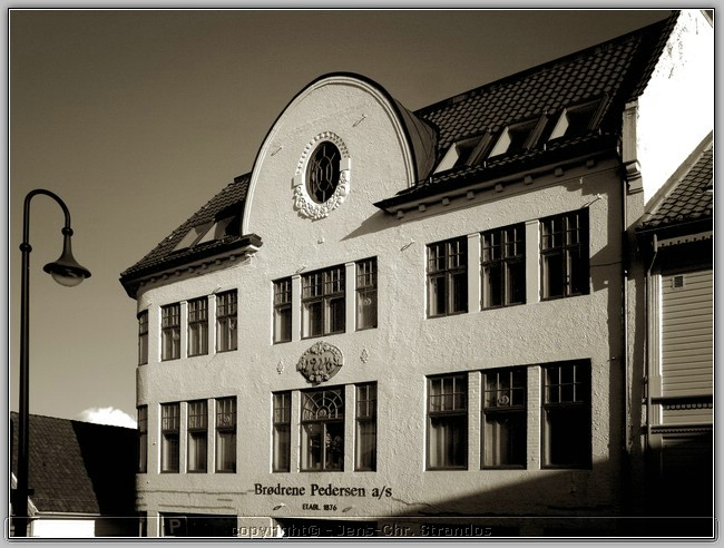 Building in old Stavanger