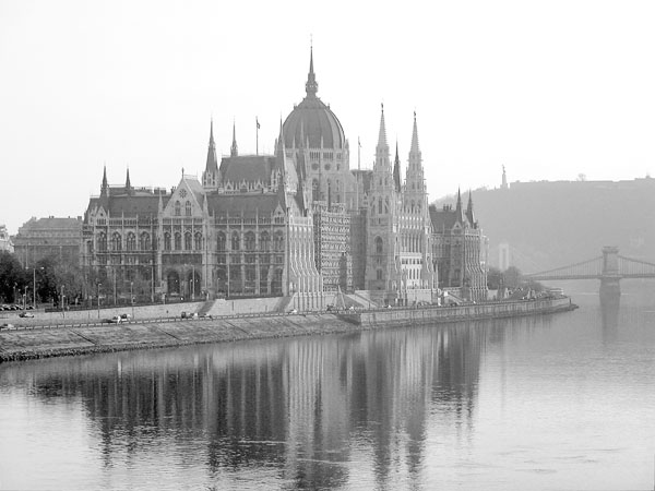 The Parliament - View from Margit Híd