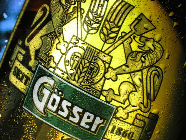Its gold, its fresh...One of Hungarys best beers