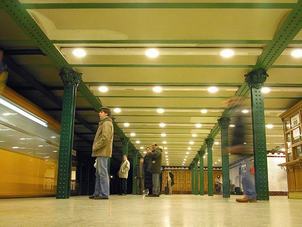 Hösök Tér tube station