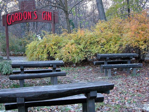 Open air Bar - Margit Island