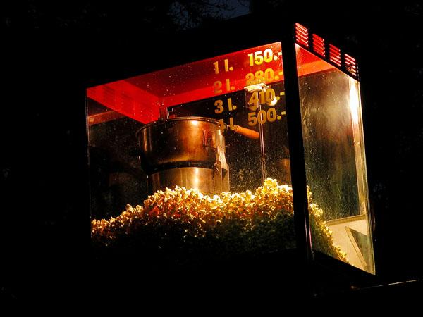 Popcorn in the park - Margit Island