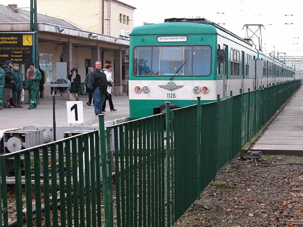 Train station - Szentendre