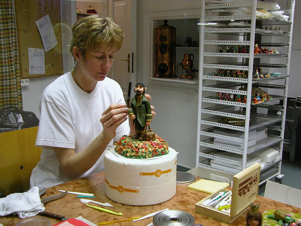 Marzipan confectionery artist - Szentendre