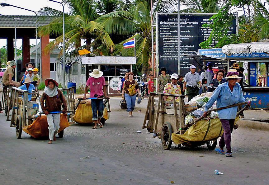 Heading toward Cambodia