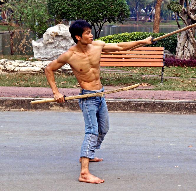 Thai fencer