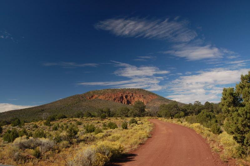 The Shot. (Red Mountain Trail Near Flagstaff, AZ)