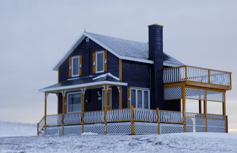 Casa tipica de las Islas de la Magdalena