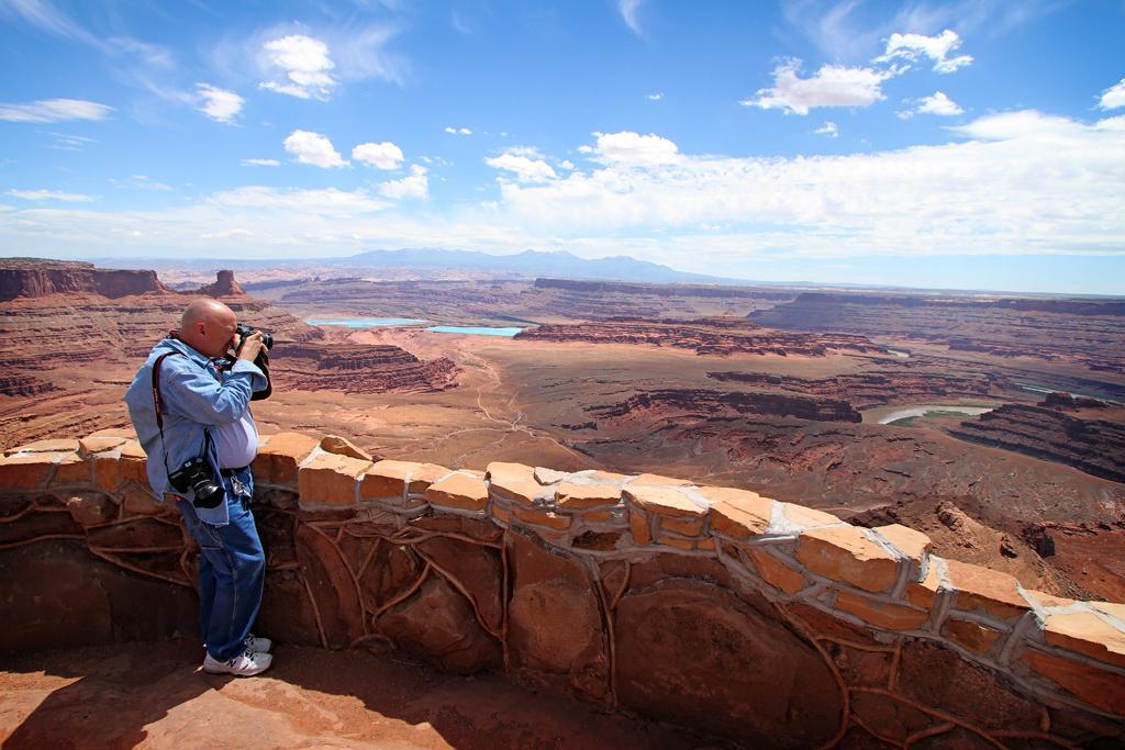 At Dead Horse Point, Moab, UT