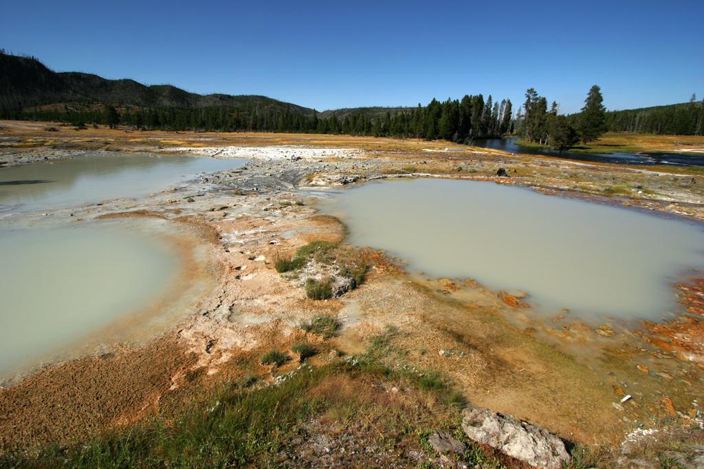 Black Opal Spring, Yellowstone National Park