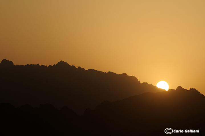 Montagne deserto