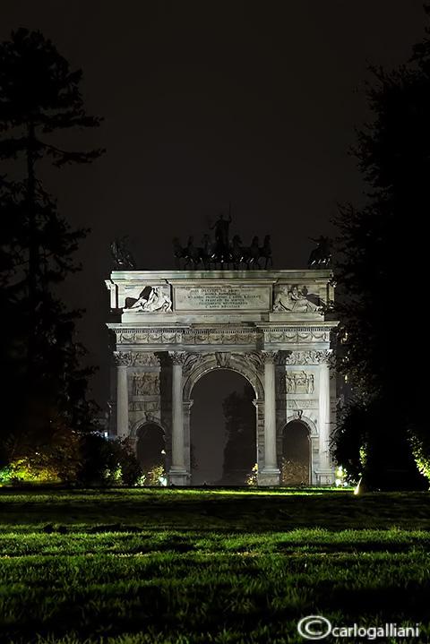 Milano- Arco della Pace
