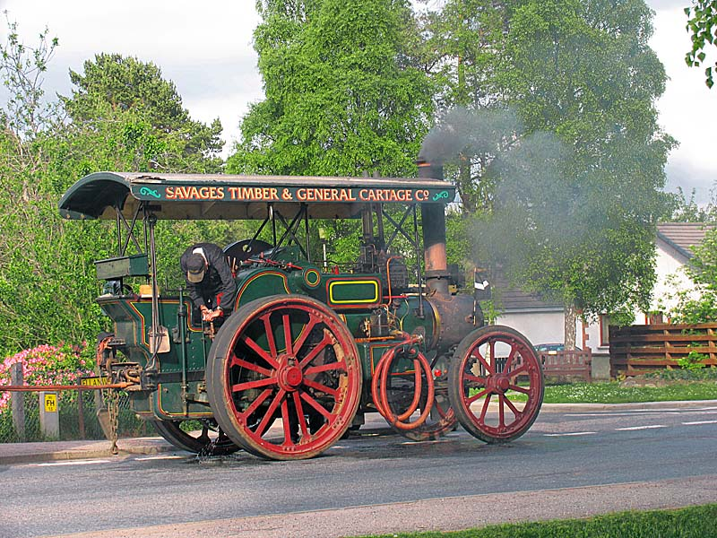 Steam Engine Colour