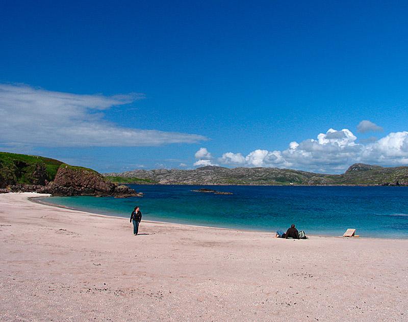 8th July Handa Beach