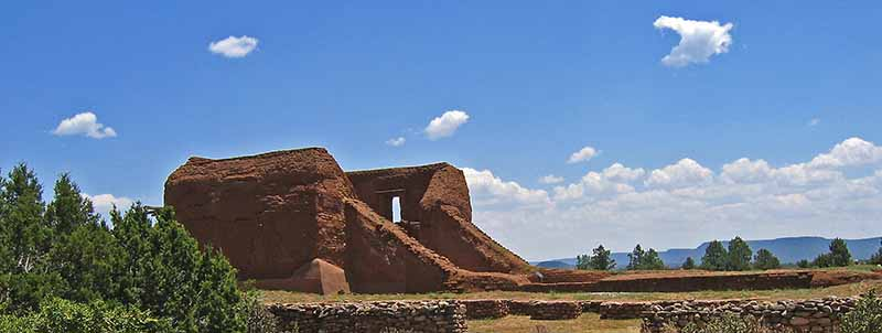 Mission Ruins in Pecos National Historical Park